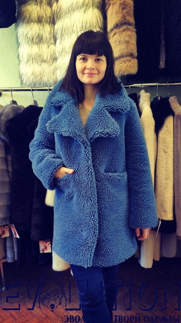 Шуба пиджак овчина